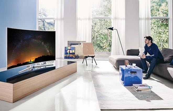 HDR 1000 nit - chuan hinh anh tren TV SUHD hinh anh