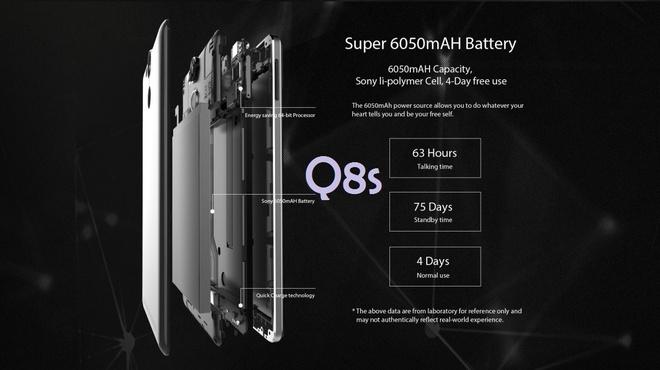 Avatelecom ra mat smartphone Titan Q8s hinh anh 5
