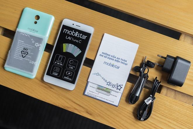 LAI Yuna C: Smartphone mau pastel cau hinh tot, gia mem hinh anh 1