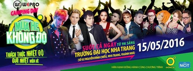 Son Tung M-TP mang 'Giai nhiet mua he' den Nha Trang hinh anh 7