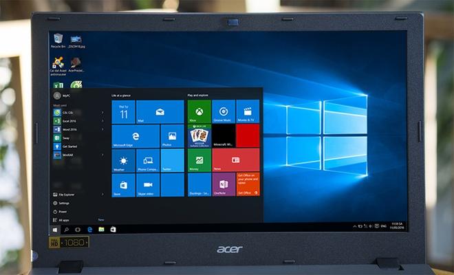 Acer Aspire E5 Full HD - laptop gia 9 trieu cho sinh vien hinh anh 3