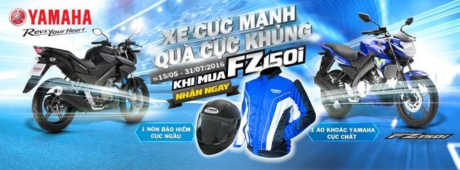 Yamaha Motor Viet Nam trien khai khuyen mai danh cho FZ150i hinh anh 1