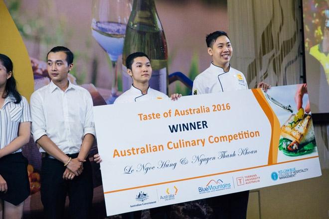 Chan dung hai ban tre thang giai 'Taste of Australia' hinh anh 3