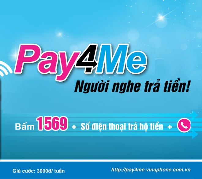 Duy tri cuoc goi nho dich vu nguoi nghe tra tien Pay4Me hinh anh