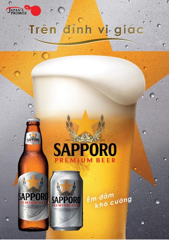 Sapporo Premium Beer nang tam thuong lam cua nguoi dung Viet hinh anh 1