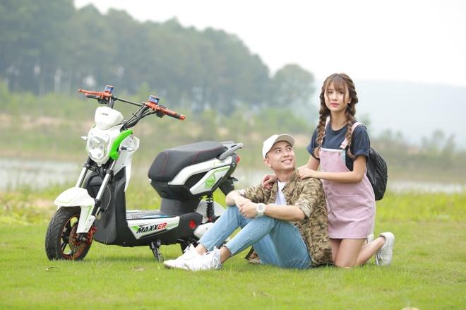 Quang duong di chuyen an tuong 110 km mot lan sac cua HKbike hinh anh 1