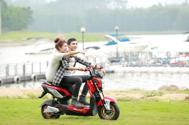 Quang duong di chuyen an tuong 110 km mot lan sac cua HKbike hinh anh 3