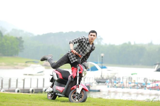 Quang duong di chuyen an tuong 110 km mot lan sac cua HKbike hinh anh 5