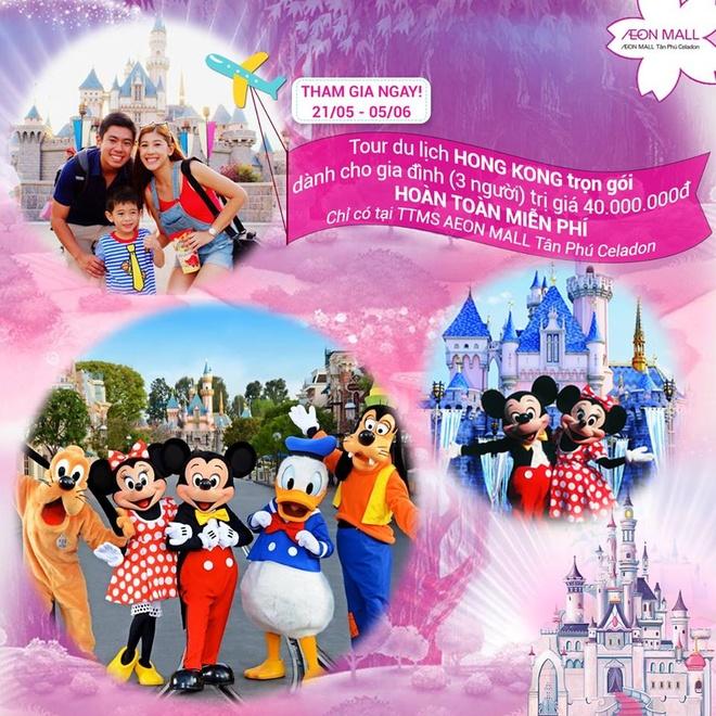 San ve du lich Hong Kong, tham quan Disneyland cho gia dinh hinh anh 1
