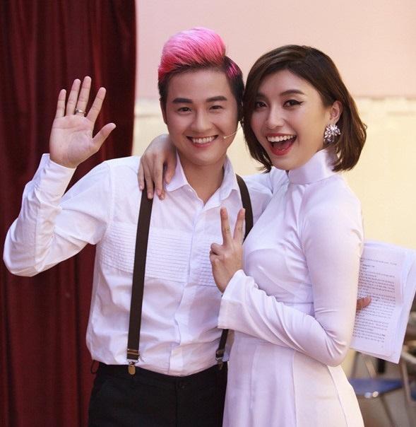 Thanh Duy, Tieu Chau Nhu Quynh hoi ngo trong nhac hoi mua he hinh anh 1