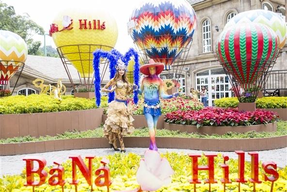 Trai nghiem van hoa the gioi da dang tai Ba Na Hills hinh anh 5