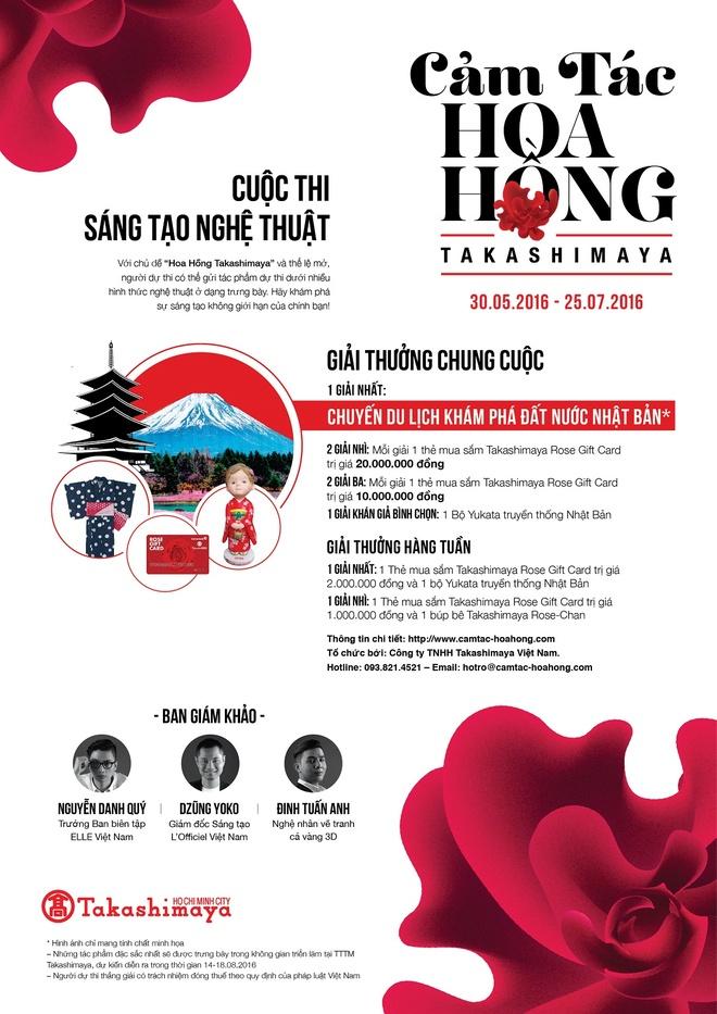 Thong diep 'Xin chao Viet Nam' tu Takashimaya Nhat Ban hinh anh 1