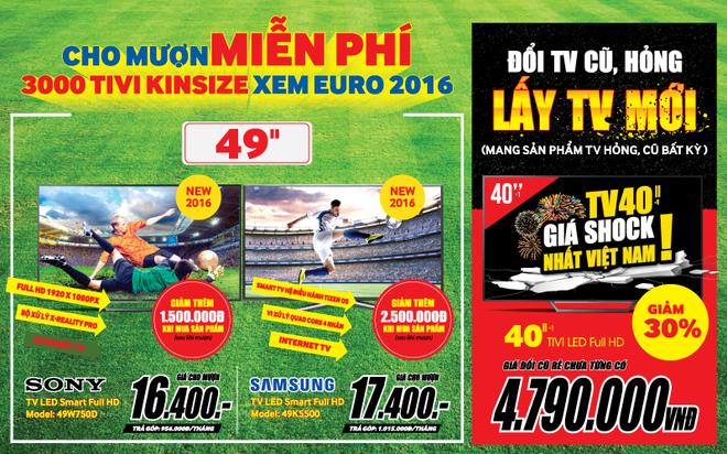 Thi truong TV khuyen mai truoc mua EURO 2016 hinh anh 5