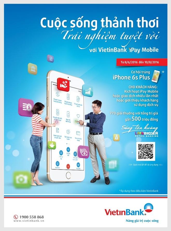 'Thanh thoi trung qua lon' cung VietinBank iPay Mobile hinh anh 2
