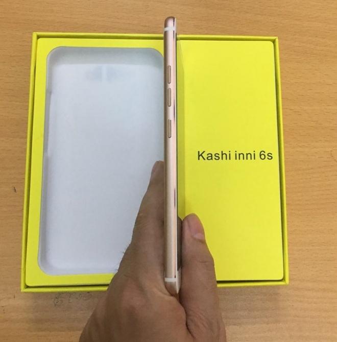 Smartphone Kashi inni 6s chip 4 nhan gia re hut nguoi dung hinh anh 1