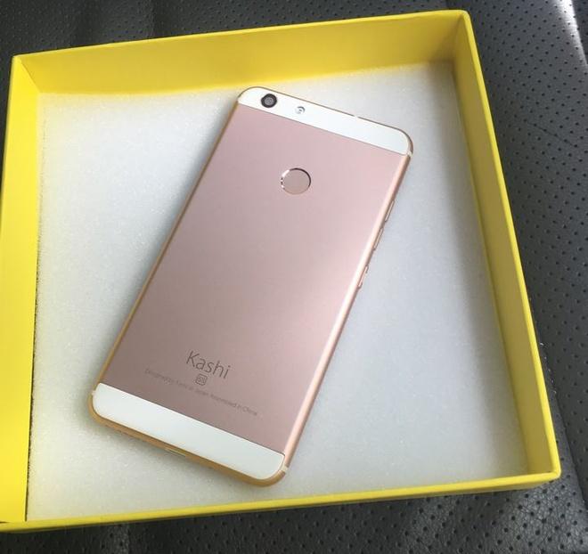 Smartphone Kashi inni 6s chip 4 nhan gia re hut nguoi dung hinh anh 3