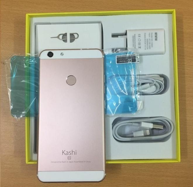 Smartphone Kashi inni 6s chip 4 nhan gia re hut nguoi dung hinh anh 4