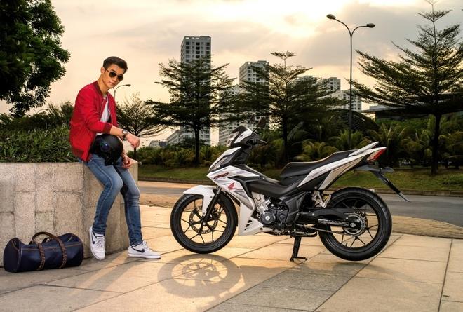 Honda Winner 150 - xe con tay cho dan phuot hinh anh 1