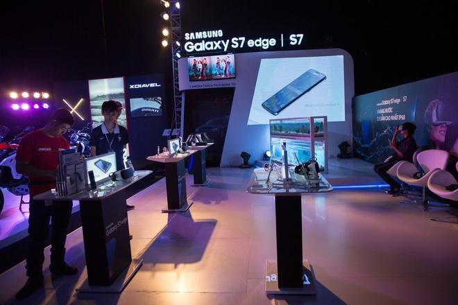Trai nghiem cong nghe voi Samsung Galaxy S7 va Audi hinh anh 2