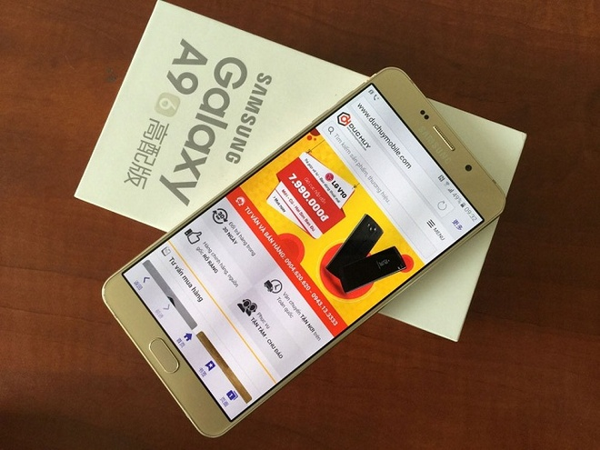 Samsung Galaxy C5 va A9 Pro gia tu 8,6 trieu dong tai VN hinh anh 3