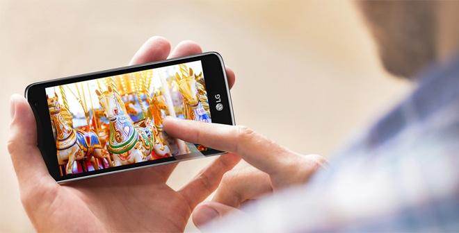LG K7: Smartphone gia re phu hop voi sinh vien hinh anh 2