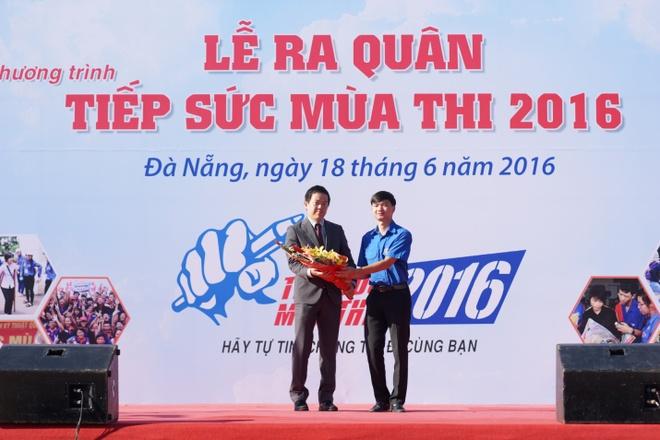Hon 3.000 ban tre Da Nang tham gia tiep suc mua thi 2016 hinh anh 2