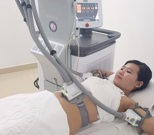 Laser SculpSure - cong nghe giam mo khong can phau thuat hinh anh