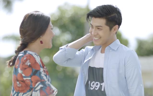 Noo Phuoc Thinh 'cam nang' Van Mai Huong trong MV moi hinh anh