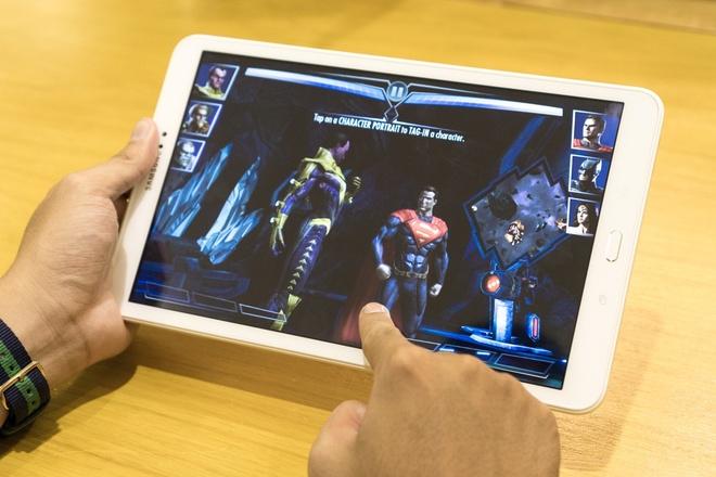 Galaxy Tab A6 10,1 inch: Tablet danh cho game thu hinh anh