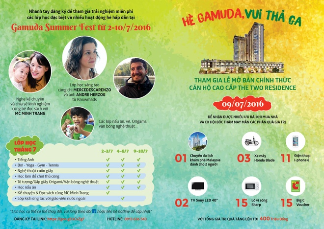 Gamuda Summer Fest - trai he mien phi cho be hinh anh 3