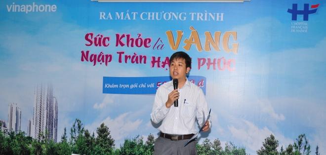 VinaPhone tro gia 90% goi kham suc khoe cho khach hang VIP hinh anh 1