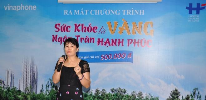 VinaPhone tro gia 90% goi kham suc khoe cho khach hang VIP hinh anh 2