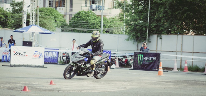 Monster Energy dong hanh cung Yamaha trong su kien the thao hinh anh 2
