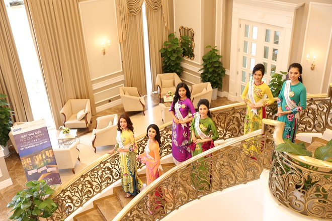 Nguoi dep Hoa hau Ban sac Viet khoe sac o Vinh Phuc Resort hinh anh 2