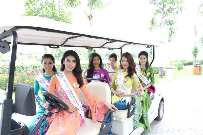 Nguoi dep Hoa hau Ban sac Viet khoe sac o Vinh Phuc Resort hinh anh 6