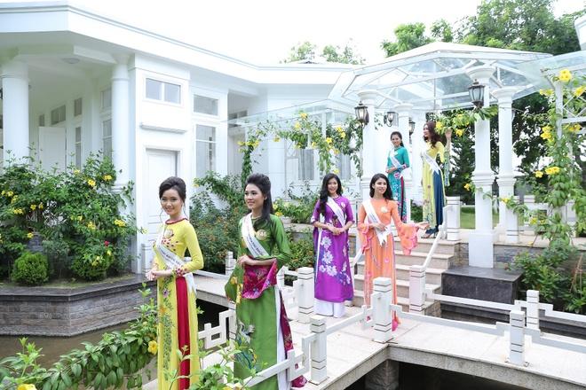 Nguoi dep Hoa hau Ban sac Viet khoe sac o Vinh Phuc Resort hinh anh 7