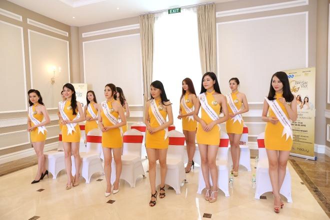 Nguoi dep Hoa hau Ban sac Viet khoe sac o Vinh Phuc Resort hinh anh 1