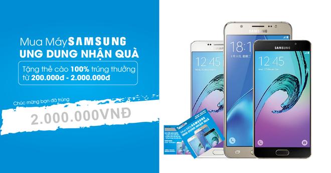TechOne tang 2 trieu dong khi khach mua smartphone Samsung hinh anh 1