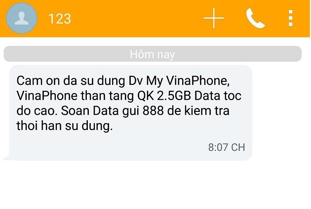 VinaPhone tang dung luong 3G khi cai dat ung dung hinh anh 3