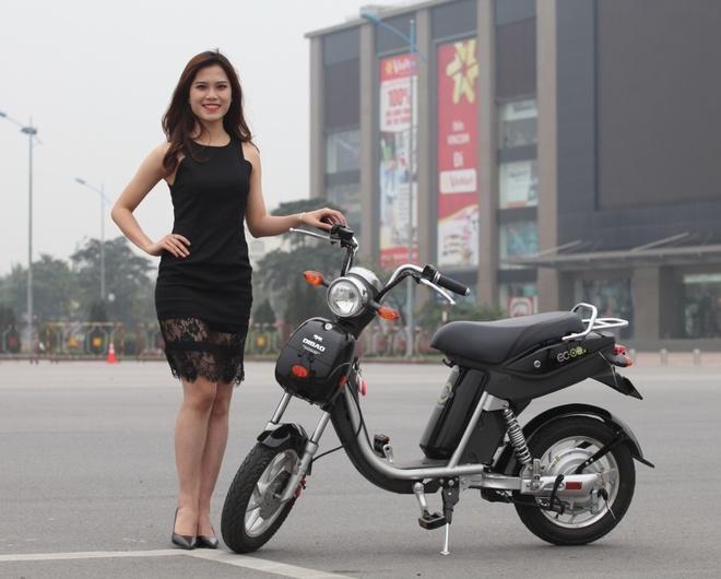 Ninja Dibao Eco - xe dap dien danh cho gioi tre hinh anh