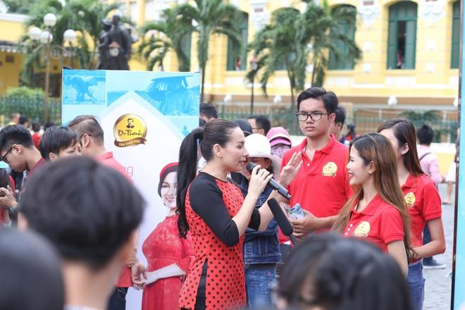 Phi Nhung van dong 10 trieu lit nuoc sach cho mien Tay hinh anh 4