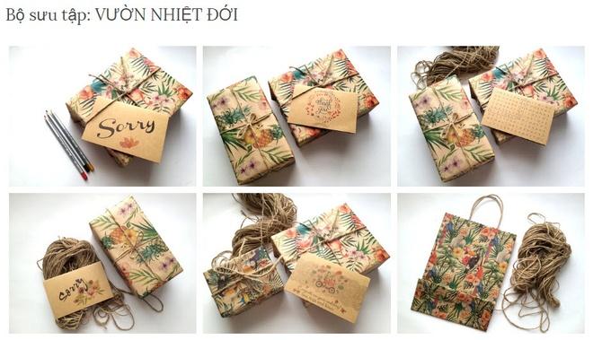 Xu huong thiep vintage hien dai len ngoi hinh anh 4