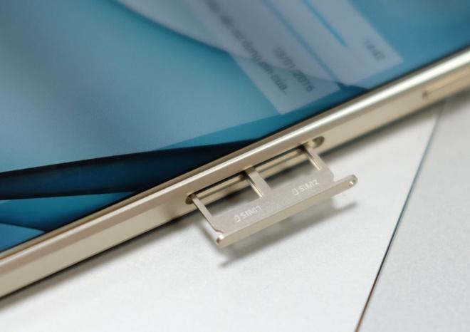 Galaxy A9 Pro 2016 man hinh lon,  pin 5.000 mAh anh 7