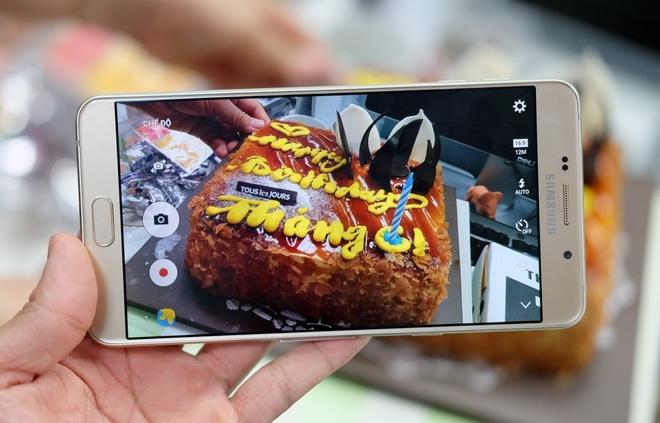 Galaxy A9 Pro 2016 man hinh lon,  pin 5.000 mAh anh 12