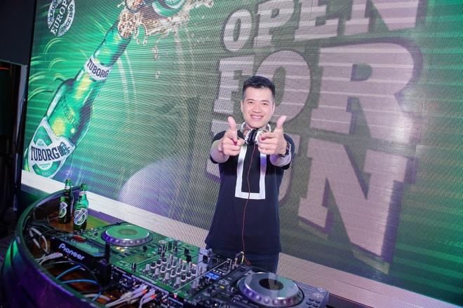 DJ Huy DX khuay dong khong gian nhac Trap hinh anh 1