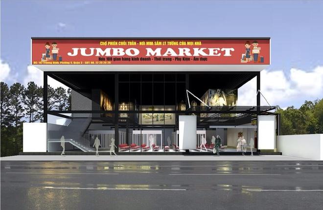Gioi tre hao hung voi cho phien Jumbo Market hinh anh 1