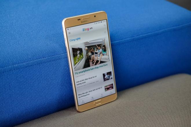 Galaxy A9 Pro 2016: Man hinh lon, pin khoe, thiet ke dep hinh anh