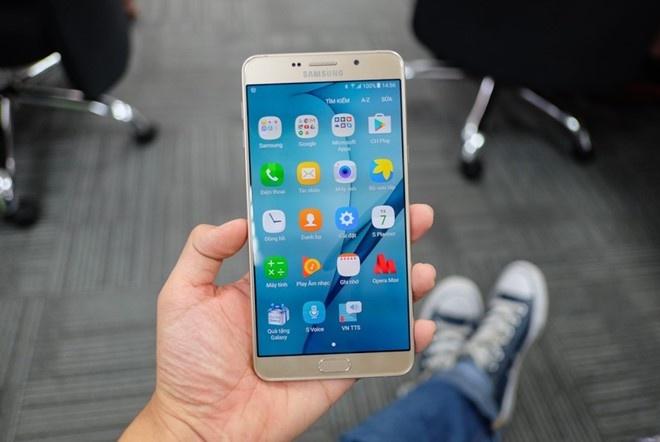 Galaxy A9 Pro 2016: Man hinh lon, pin khoe, thiet ke dep hinh anh 3