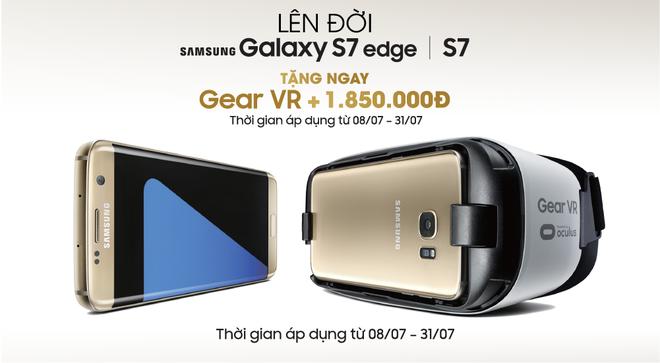 Mua Samsung Galaxy S7 va S7 edge, nhan kinh Gear VR hinh anh 1