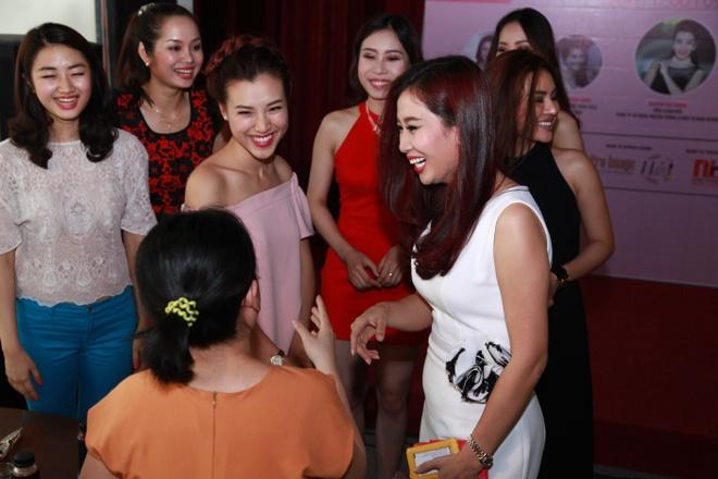 Mang luoi Nu lanh dao tre Young WLIN ra mat tai TP HCM hinh anh 5